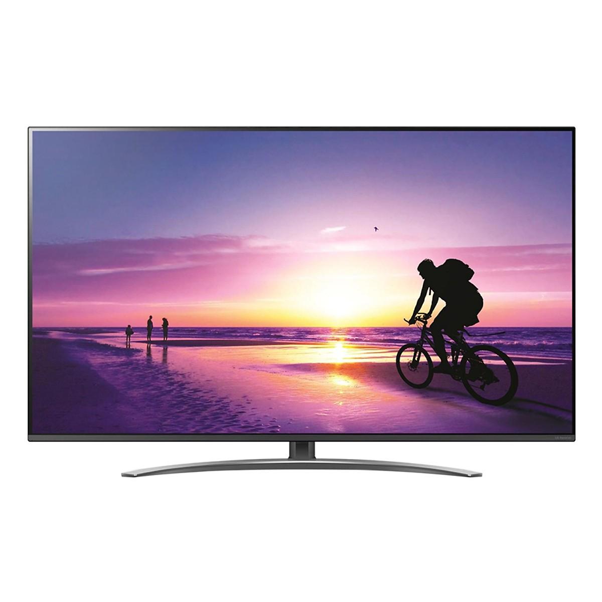 Smart Tivi LG 55 inch 4K UHD 55SM8100PTA - Hàng Chính Hãng + Tặng Khung Treo Cố Định