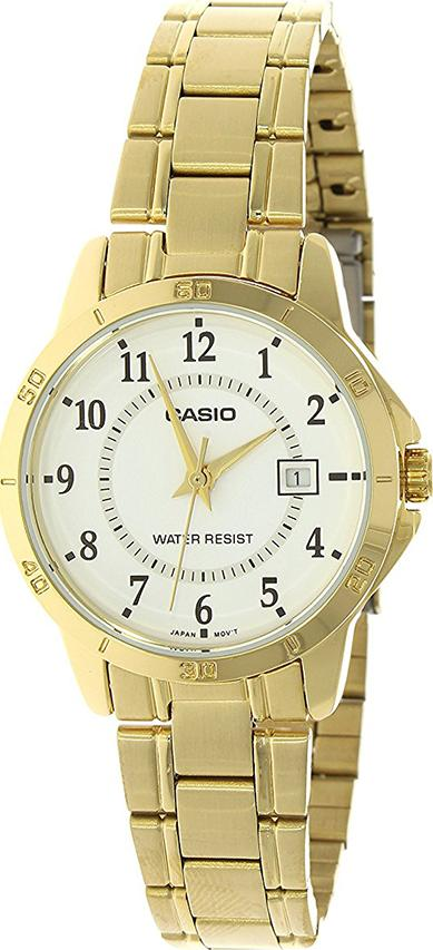 Đồng Hồ Nữ Dây Kim Loại Casio LTP-V004G-7BUDF (30mm) - Vàng