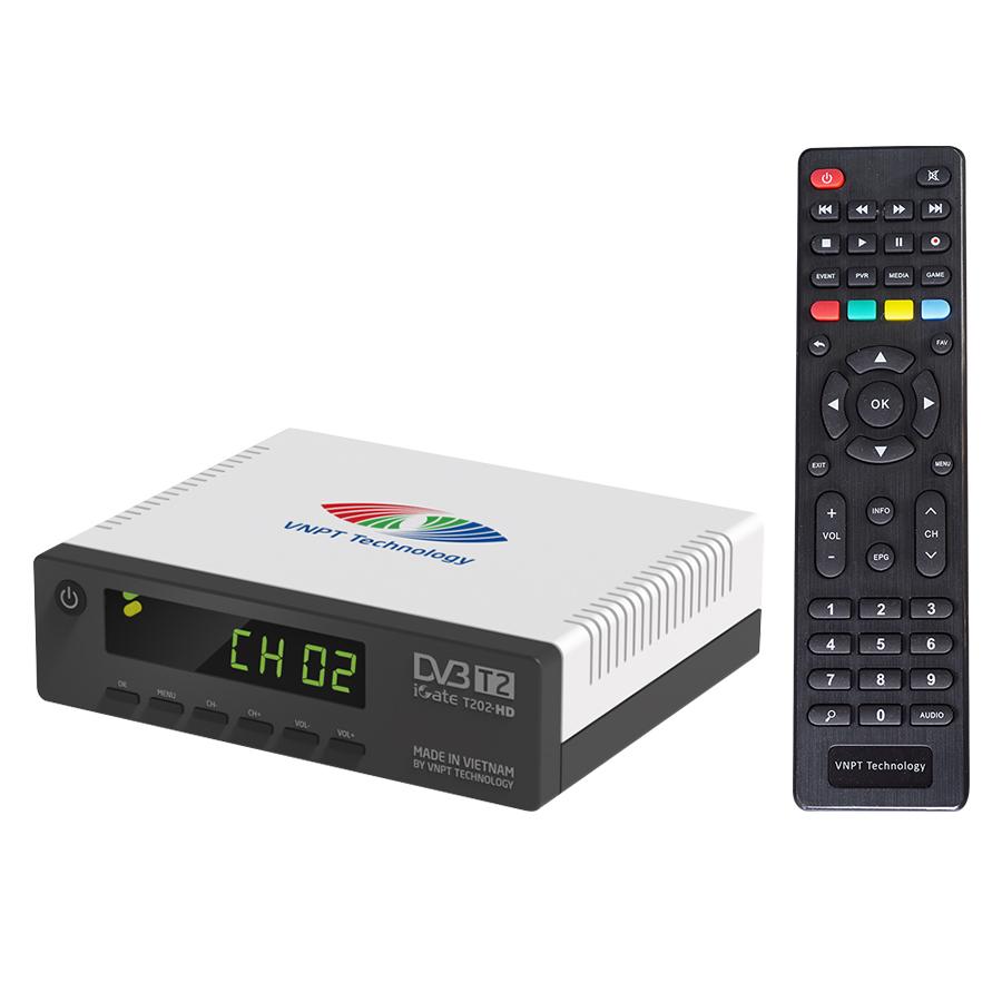 Điều khiển đầu thu kỹ thuật số DVB T201/ T202/ T203 HD VNPT Technology hàng chính hãng