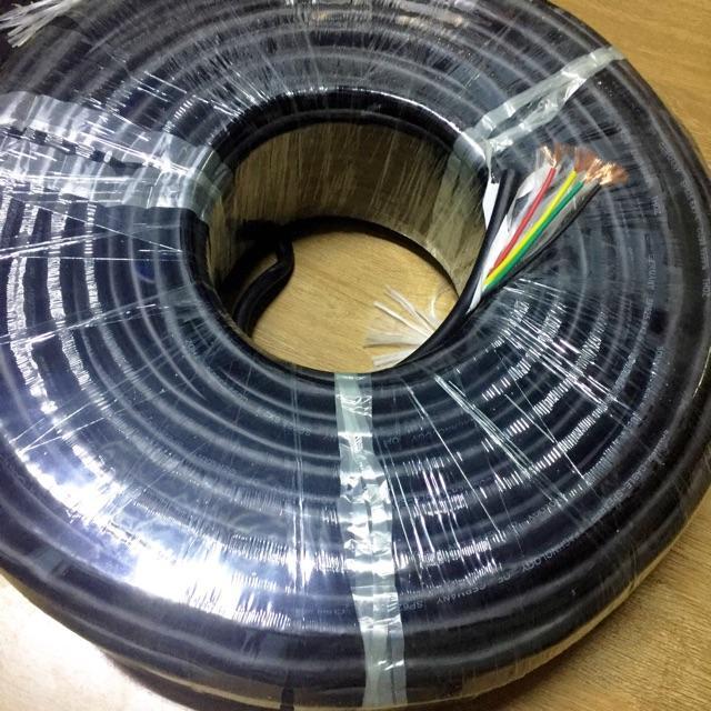 Dây loa 4 ruột 1.5mm số lượng 5m dây đồng nguyên chất, dây loa sân khấu