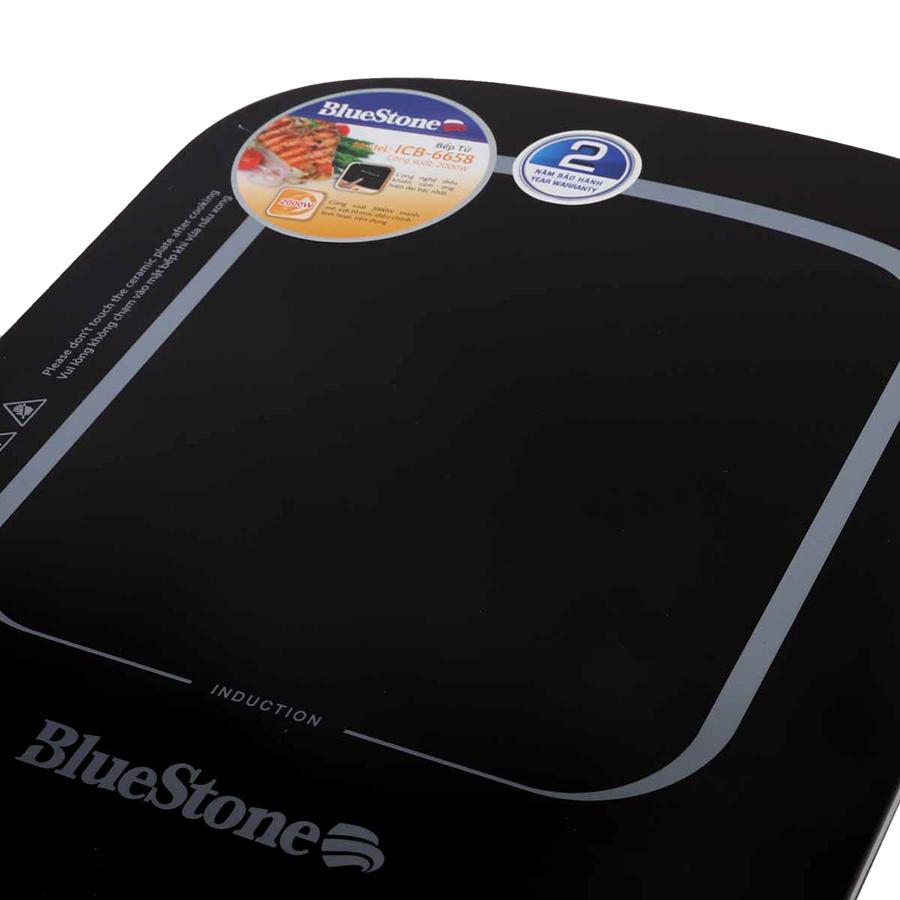 Bếp Điện Từ Bluestone ICB-6658 (2000W) - Hàng chính hãng