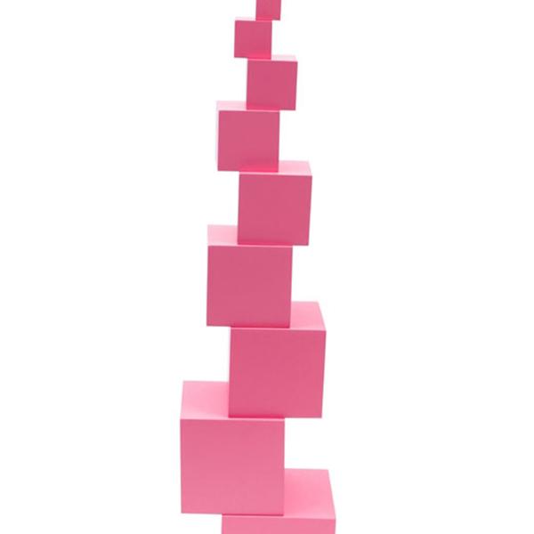 Đồ Chơi Gỗ Tháp Hồng  - Pink Tower-Beech wood