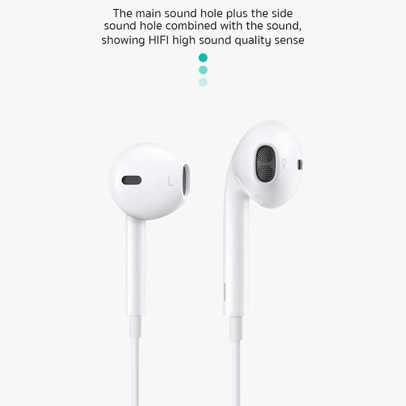 Tai nghe nhét tai cổng jack Lightning hỗ trợ đàm thoại cho iPhone / iPad hiệu COTEETCI CS5190 trang bị chip âm thanh DIGITAL HIFI - Hàng nhập khẩu