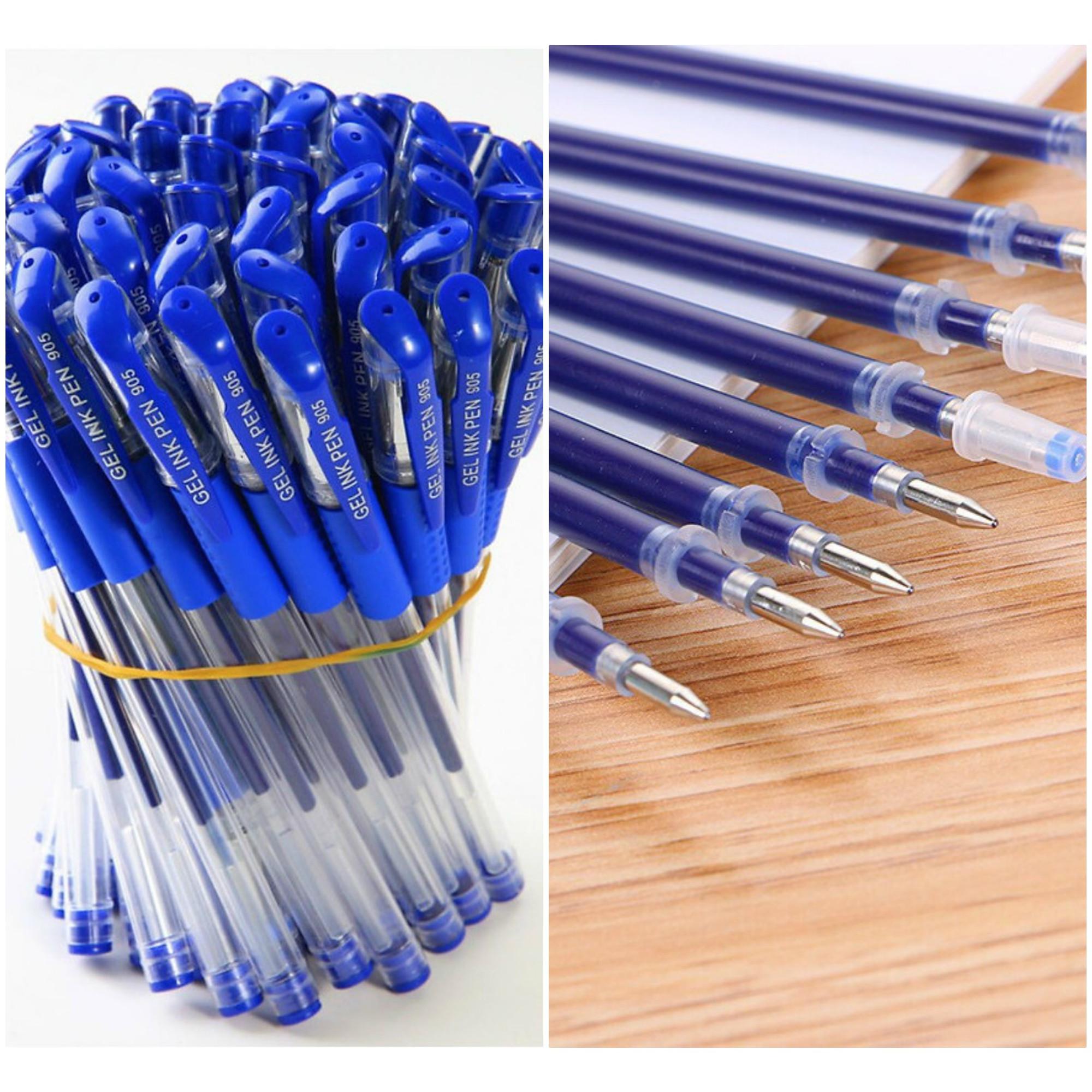 Combo gồm 30 bút nước và 60 ruột bút nét đẹp mực đều