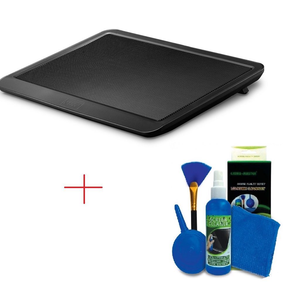 Đế tản nhiệt Laptop N191 TẶNG KÈM BỘ VỆ SINH 4 MÓN