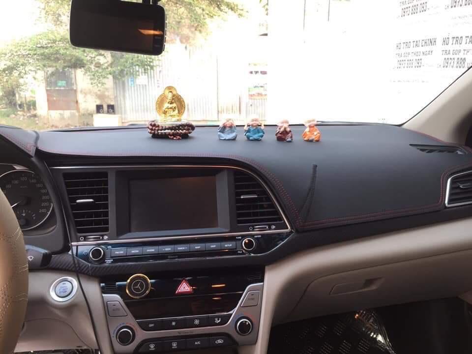 Thảm da Taplo vân carbon Cao cấp dành cho xe Mazda 3 2014-2019
