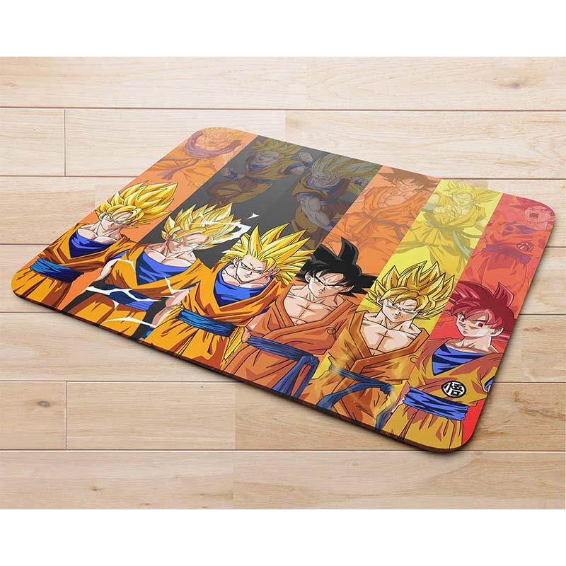 Miếng lót chuột mẫu 7 viên ngọc rồng, Super Saiyan Goku