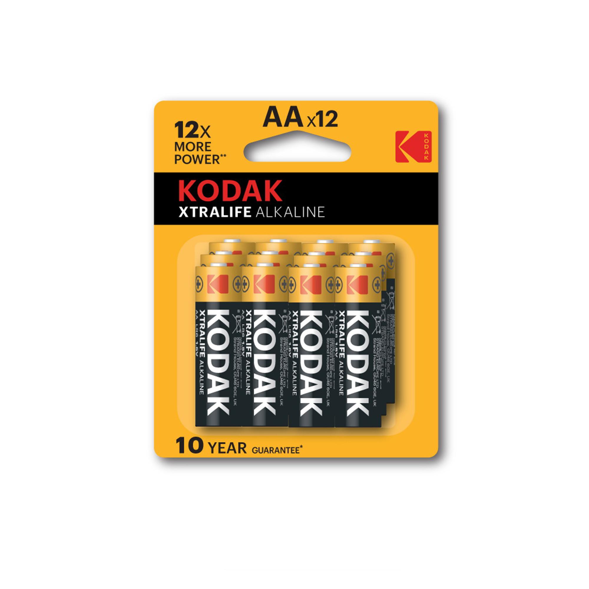 Bộ 12 Pin Kodak Alkaline AA UBL IB0219