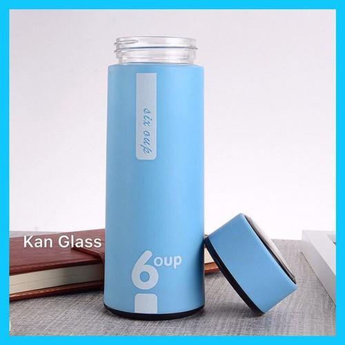 Bình nước giữ nhiệt 450ml (màu xanh dương)