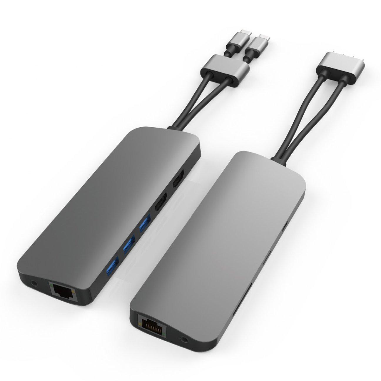 CỔNG CHUYỂN HYPERDRIVE VIBER 10-IN-2 4K60HZ USB-C HUB FOR MACBOOK/IPADPRO/LAPTOP/SMARTPHONE - HÀNG CHÍNH HÃNG