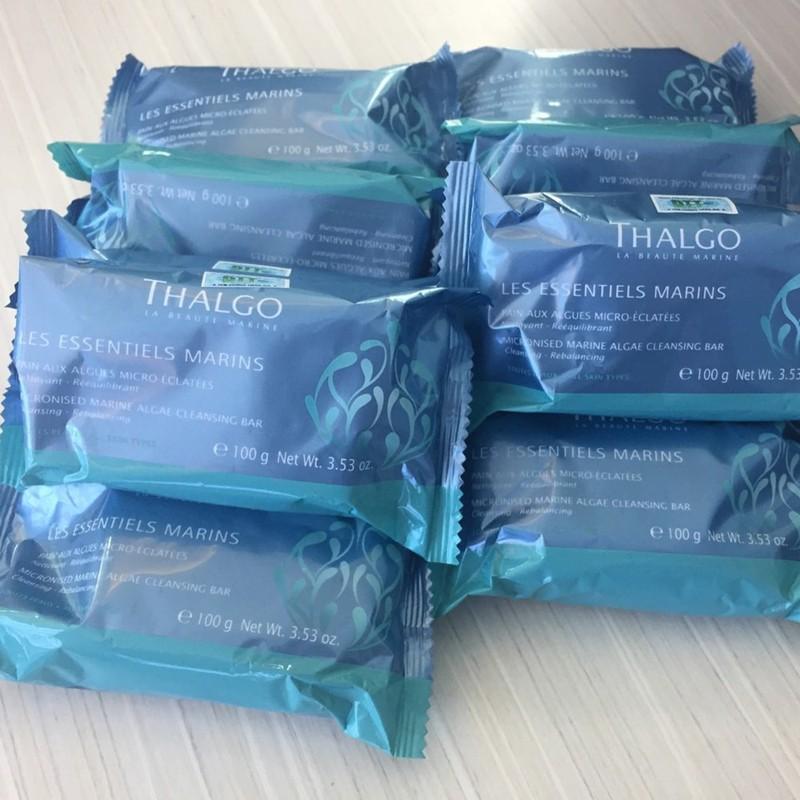 Xà phòng tảo biển làm sạch da hỗ trợ trị mụn Thalgo Marine Algae Cleansing Bar (100g)