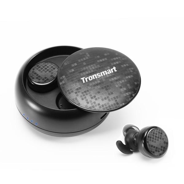 Tai Nghe Bluetooth Nhét Tai Tronsmart Encore Spunky Buds TWS (Đen) - Hàng Chính Hãng