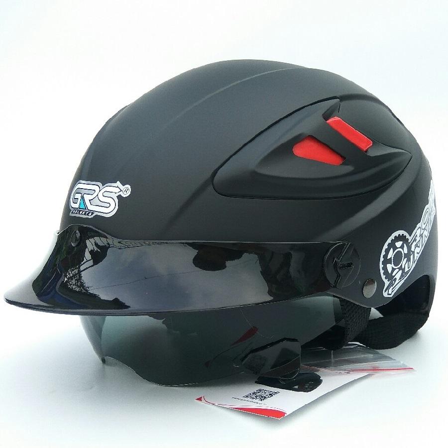 Mũ Bảo Hiểm GRS A966 kính giấu, tháo lót