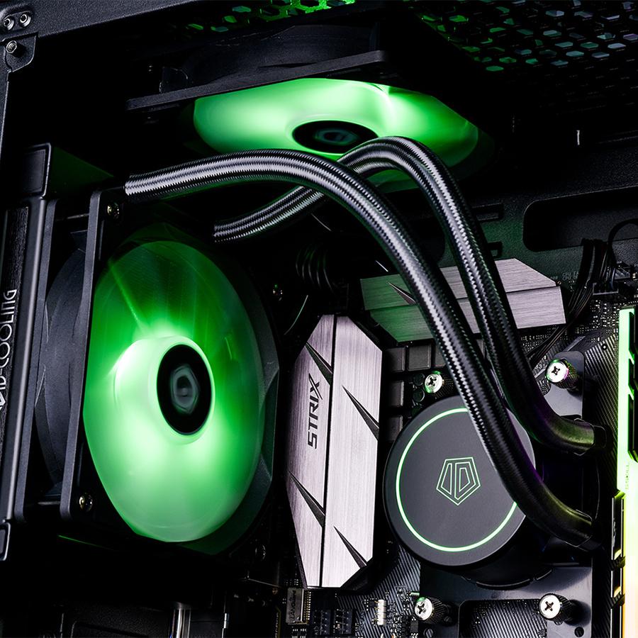 Tản nhiệt nước CPU ID-COOLING AURAFLOW X 120 - Hàng Chính Hãng