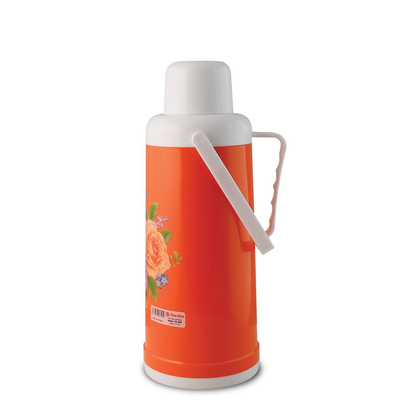 Phích đựng nước nóng cao cấp Rạng Đông model: RD2035N3 (899)- Chính hãng, thân nhựa, vai nhựa, dung tích 2 lít