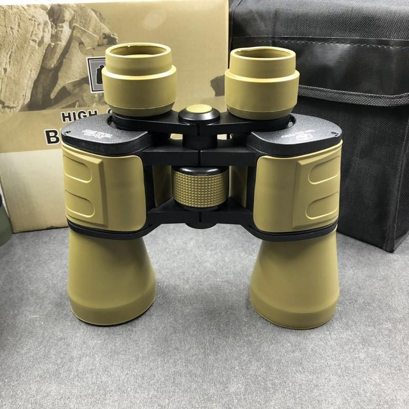 Ống nhòm màu vàng 20X50