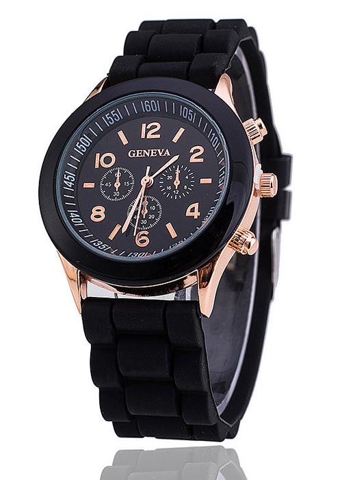 Đồng hồ thời trang dây silicone GEVA-046
