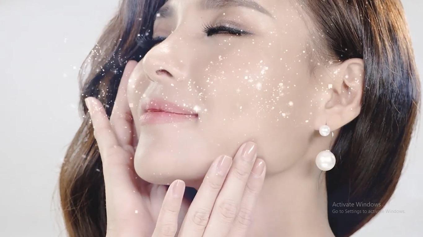Kem dưỡng ẩm da mặt giúp da trắng hồng và se khít lỗ chân lông có chống nắng LYNSHAO - Hàng Chính Hãng