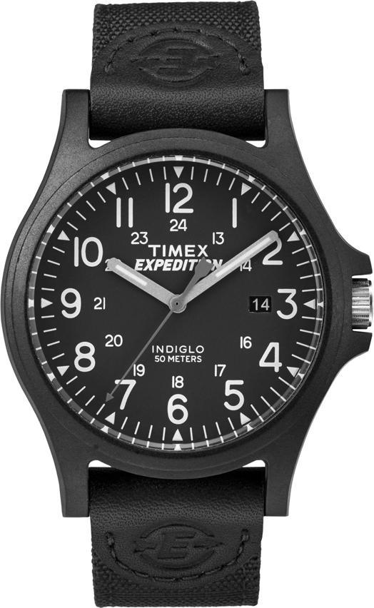 Đồng Hồ Nam Dây Vải Timex Expedition Acadia TW4B08100 (40mm) - Đen