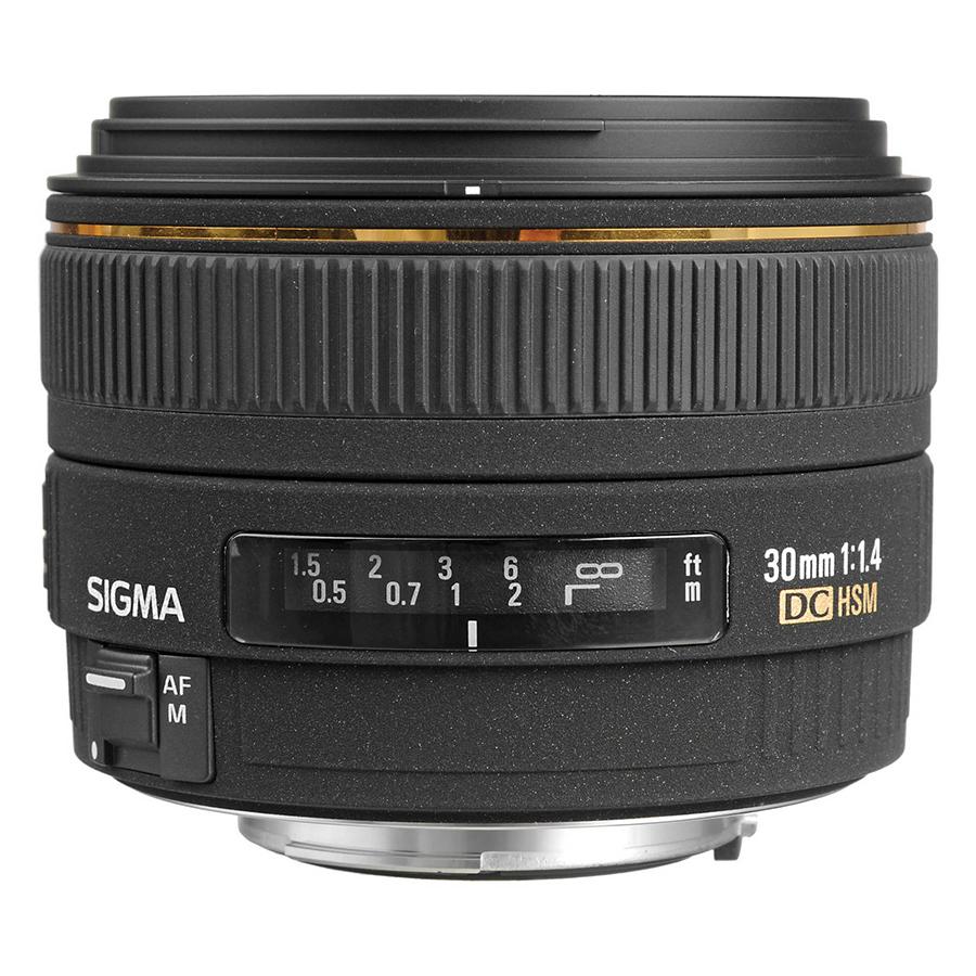Ống Kính Sigma 30mm F1.4 EX DC HSM For Canon - Hàng Chính Hãng
