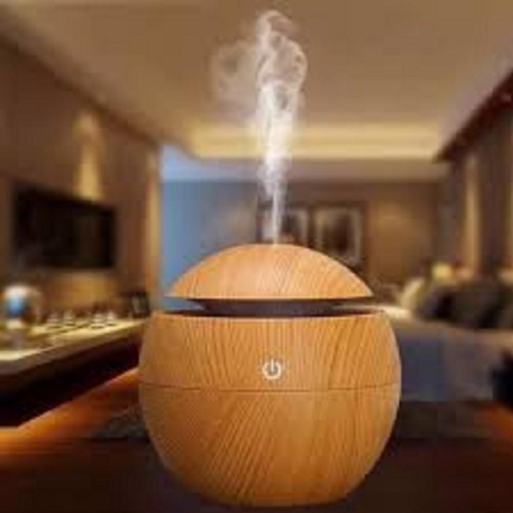 Máy xông tinh dầu, phun sương tạo ẩm vân gỗ cao cấp