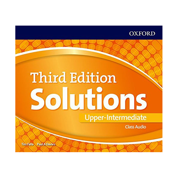 Solutions (3E) Upper-Intermediate Class Audio CDs