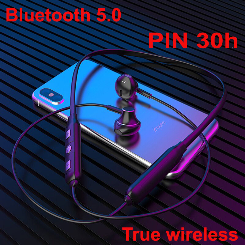 Tai nghe  bluetooth 5.0 Pin 12h  không dây hỗ trợ thẻ nhớ  TF D82  đi kèm 1 túi đựng