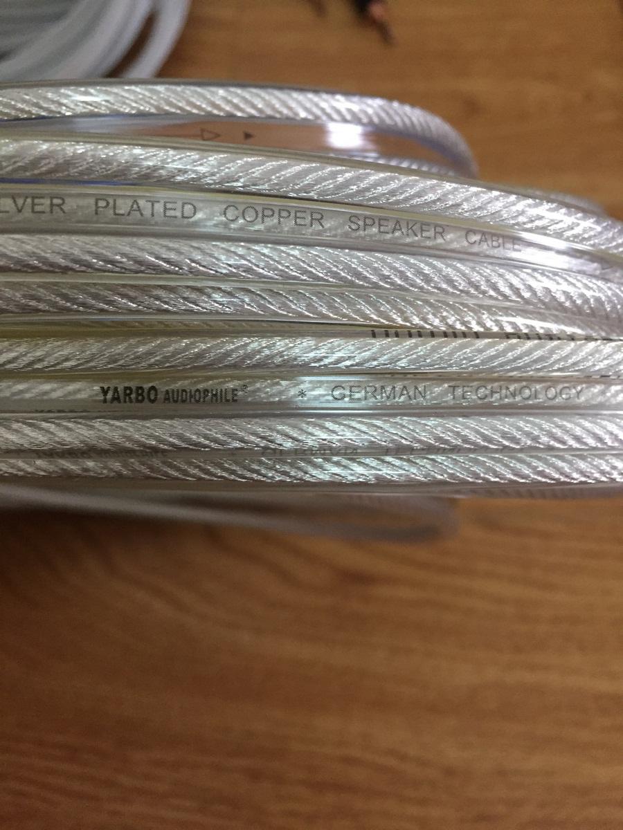5 mét dây loa Yarbo mạc bạc