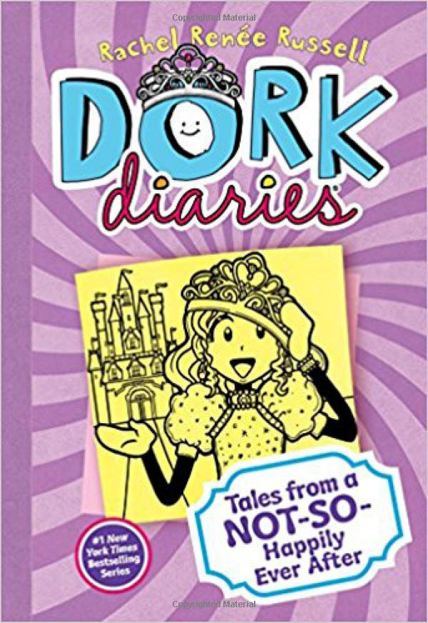 Dork Diaries 8 - Tales from a Not-So-Happily Ever After (Hardcover)