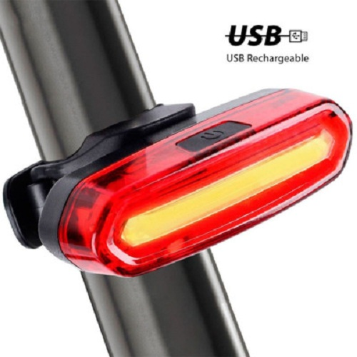 COMBO Đèn Còi Xe Đạp HJ062 Và Đèn Hậu Sạc USB AQY096 Led 3 Màu