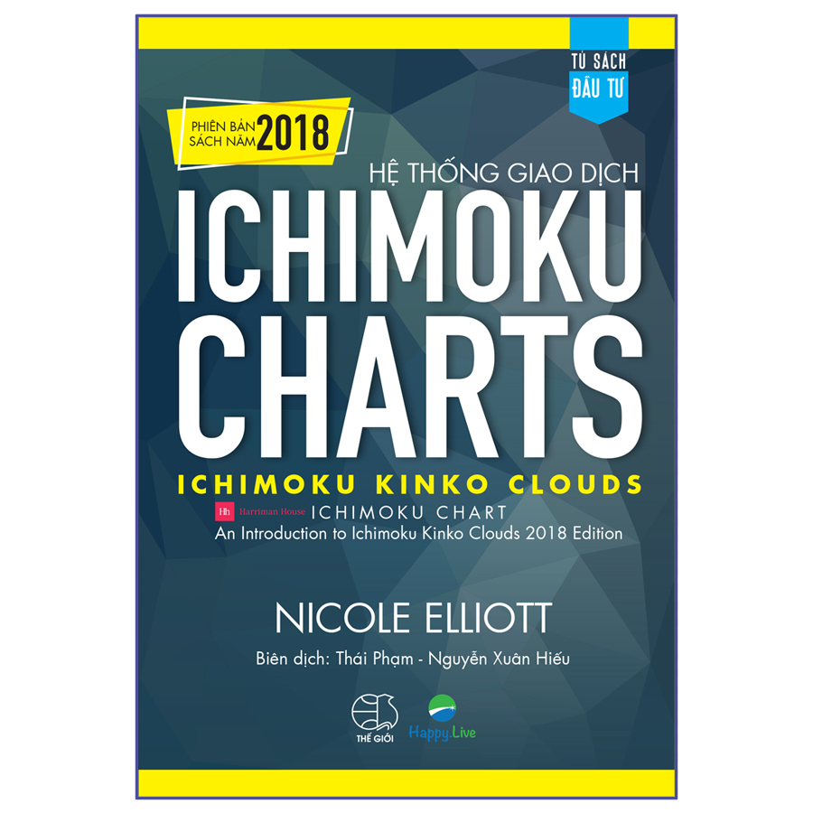 Hệ thống giao dịch Ichimoku Charts - Ichimoku Kinko Clouds  (Phiên bản sách năm 2018)