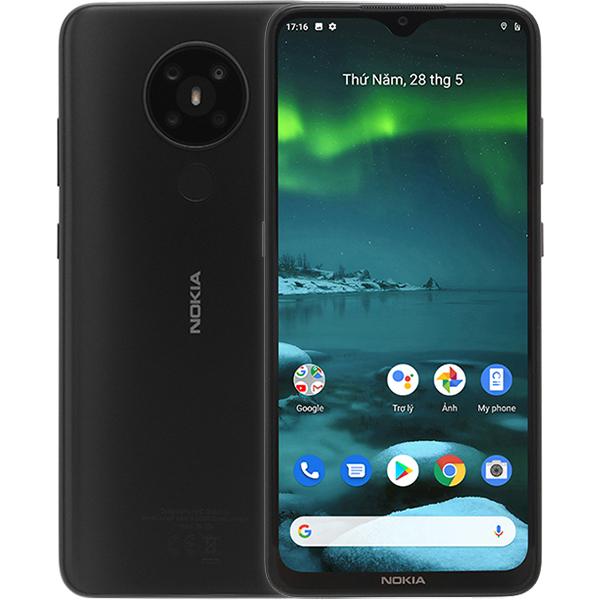 Điện Thoại Nokia 5.3 64GB3GB - Hàng Chính Hãng - Xám