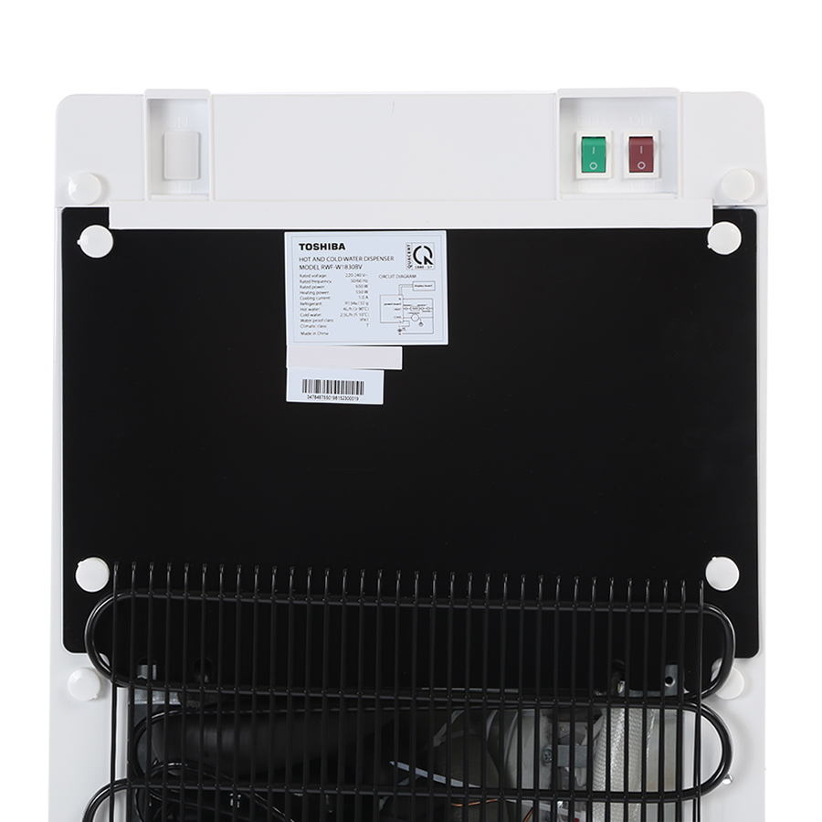 Cây Nước Nóng Lạnh Toshiba RWF-W1830BV(K) - Hàng Chính Hãng