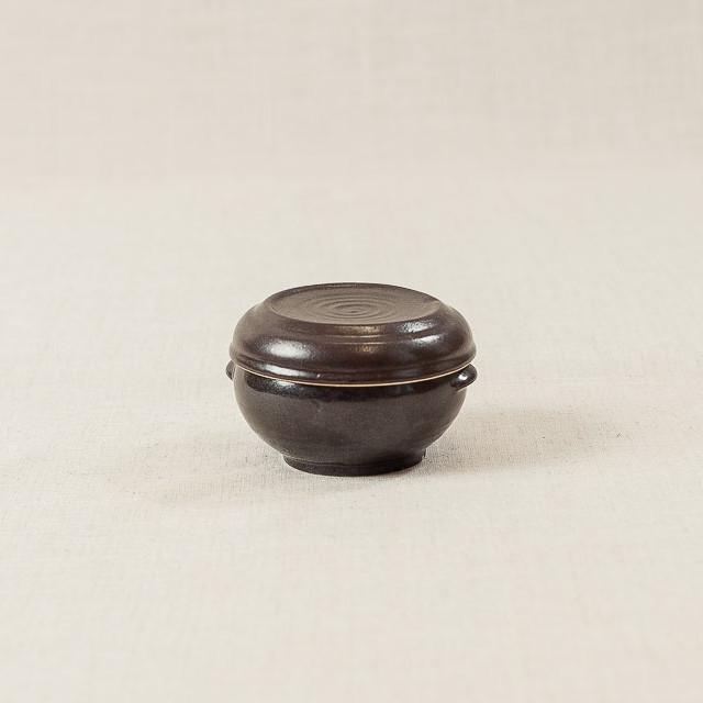 Hũ gốm mini có tai  (10x7cm)