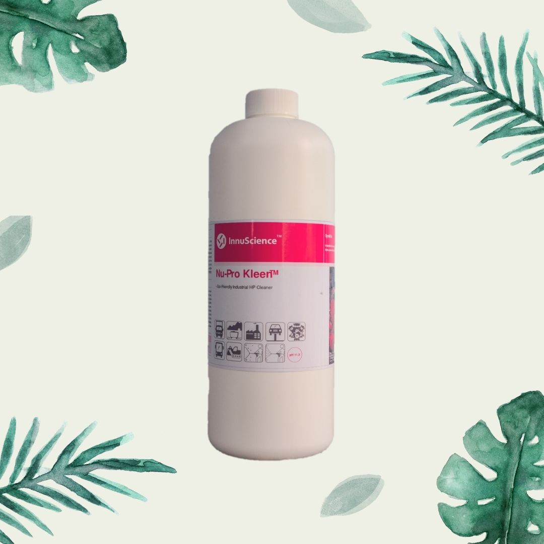 Nu-Pro Kleen (1000 ml) - Chuyên Xử Lý Dầu Mỡ Bám Lâu Ngày - Làm Sạch Bằng Vi Sinh - Nhập Khẩu Từ Canada