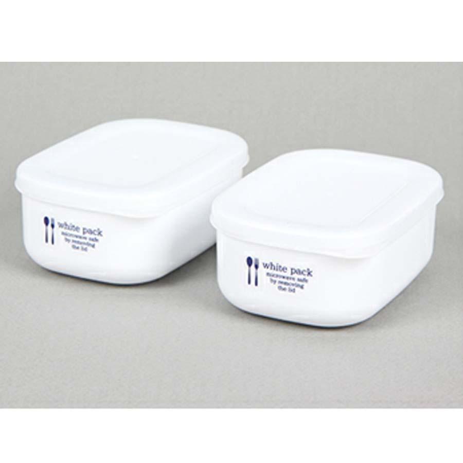 Set 2 hộp đựng thực phẩm K516 280ml Nội đại Nhật Bản