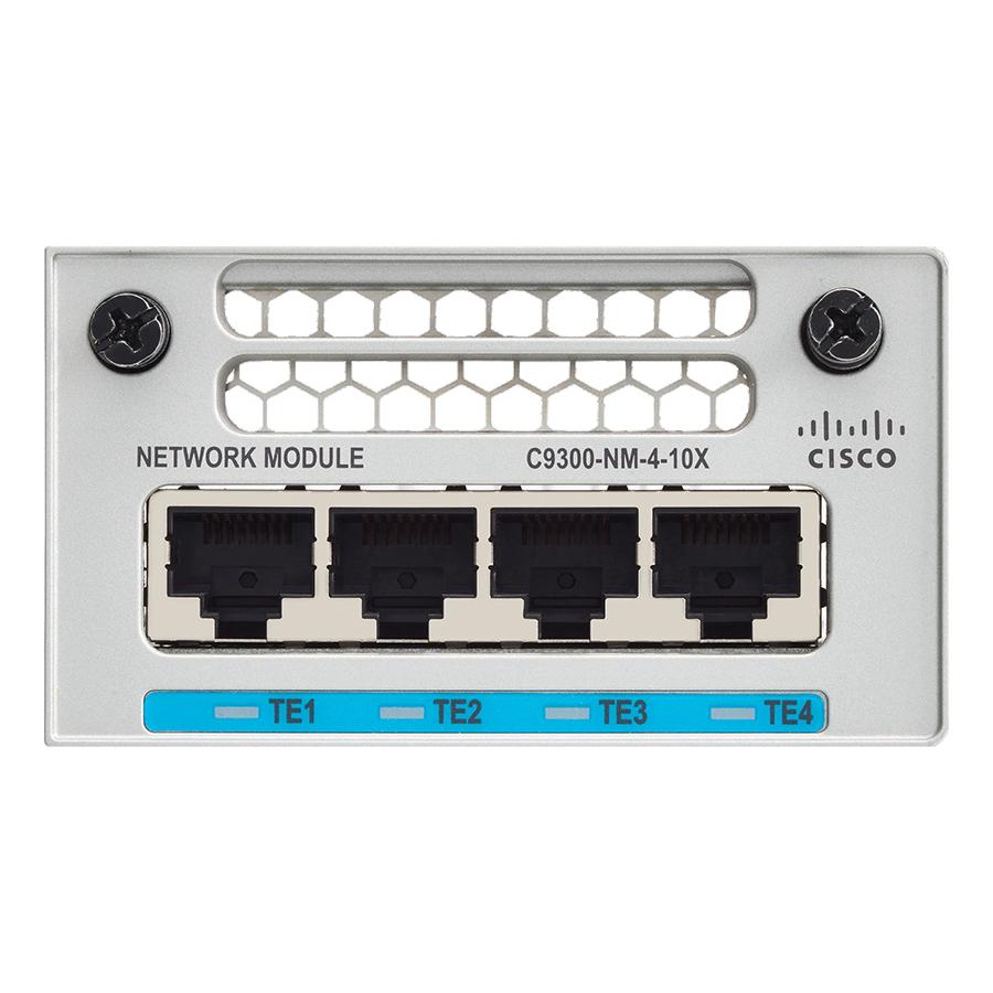 Card Mạng Cisco C9300-NM-4M Catalyst 9300 4 X Mgig Network Module - Hàng Nhập Khẩu