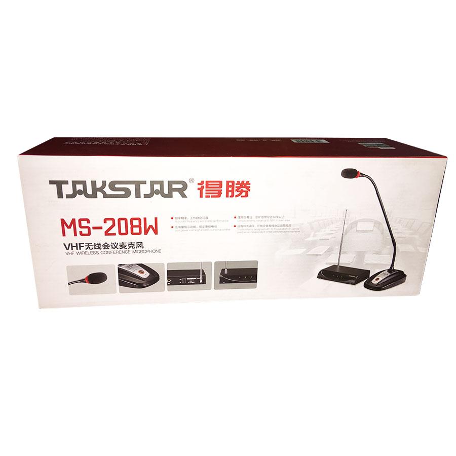 Takstar MS-208W - Micro Cổ Ngỗng Không Dây Cho Hội Nghị - Hàng Chinh Hãng