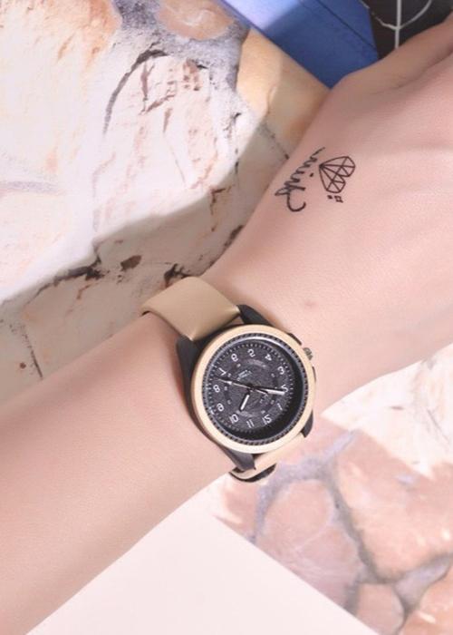 Đồng hồ nữ DKO dây da cao cấp mặt số thời trang sành điệu