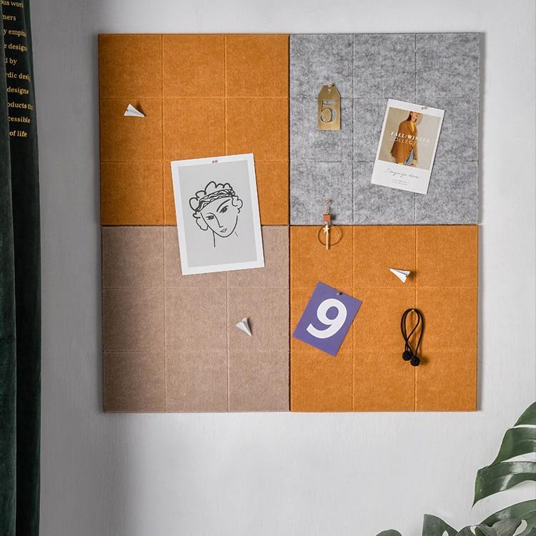 Bảng Ghim Caro Dán Tường Nhiều Màu Sắc Kích Thước 30cm x 30cm
