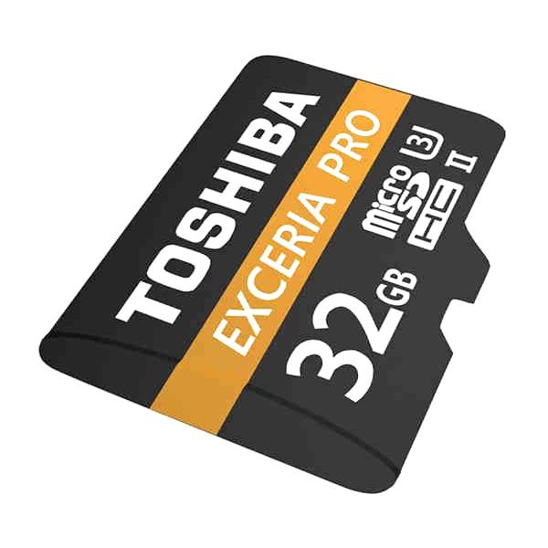 Thẻ Nhớ MicroSDHC Toshiba Exceria Pro M501 32GB UHS-II U3 hỗ trợ 4K tốc độ lên đến 270MB/s - Hàng Chính Hãng