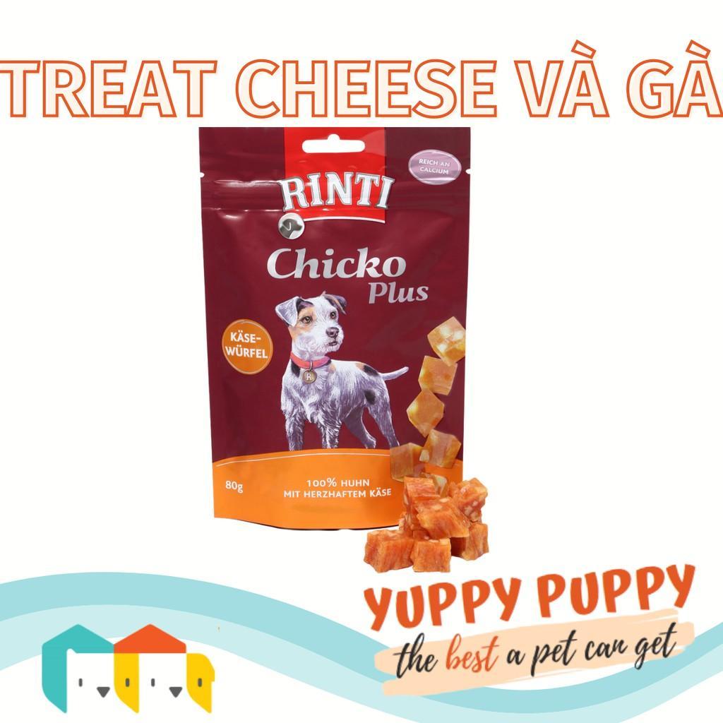 Rinti Treat training viên cheese và gà cho chó 225 GR