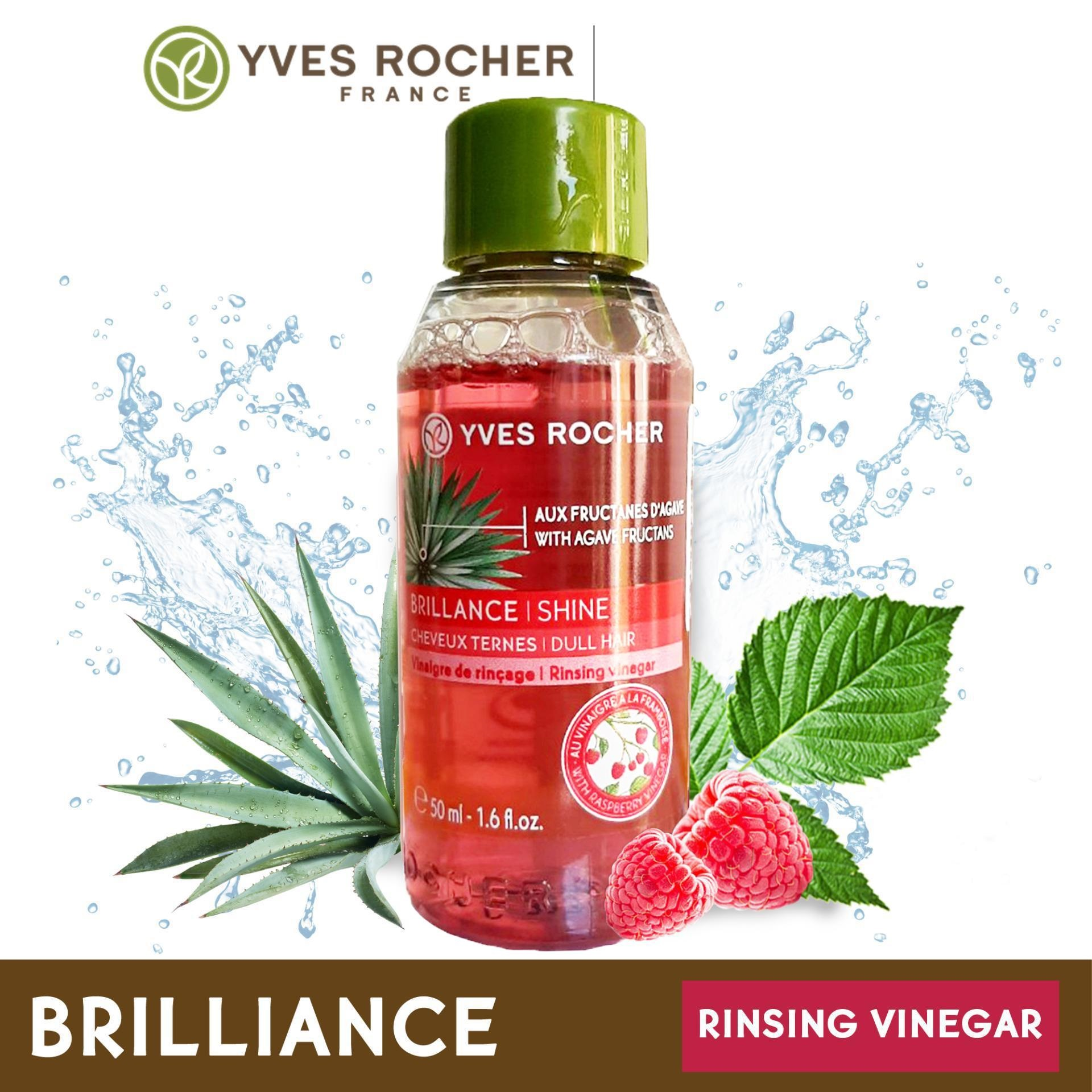 [Mini Size] Giấm Xả Tóc Yves Rocher Brillance Shine Rinsing Raspberry Vinegar 50ml