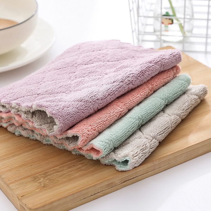 Combo 10 khăn lau bếp đa năng - KL29 (Giao ngẫu nhiên mẫu)