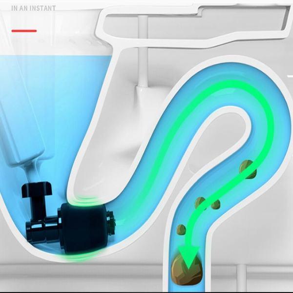 Súng tạo áp lực thông tắc bồn cầu, nhà vệ sinh đa năng cao cấp
