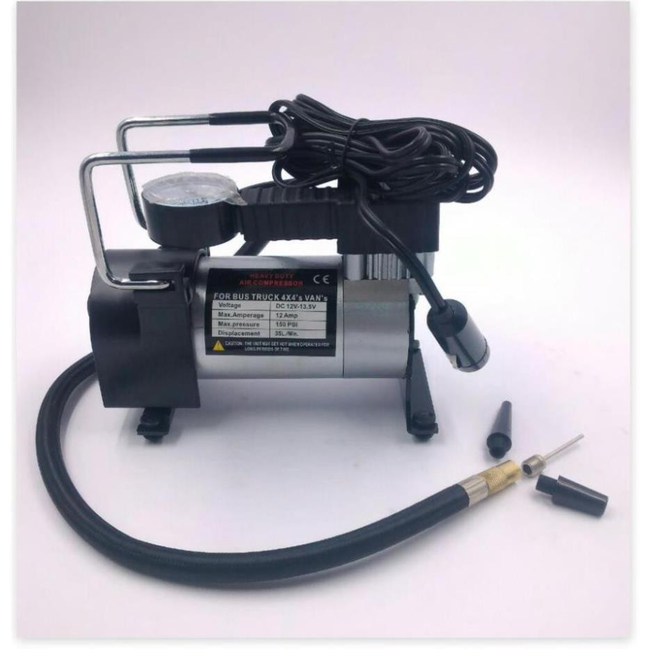 Nơi bán Bơm Điện 12V Mini Công Suất Lớn Chuyên Bơm Hơi Ô Tô Xe Nén Khí, Xe  Máy Ô Tô Xe Đạp Bơm Lốp Xe Nhỏ Gọn, Tiện Dụng rẻ nhất