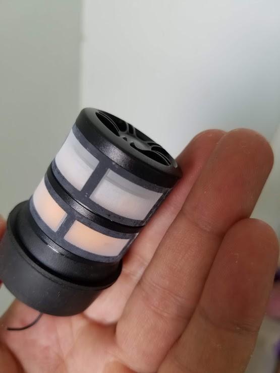 Củ côn mic BBS chính hãng S40 X40 bông sen 2 tầng cao cấp dùng nâng cấp và cho tiếng micro nhẹ, hút lời và dày hơn