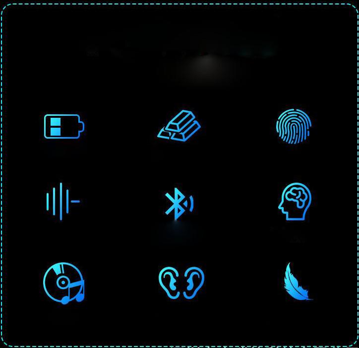 Tai Nghe Bluetooth Không Dây Với Dock Sạc Hiển Thị Kỹ Thuật Số TWS 5.0 X7
