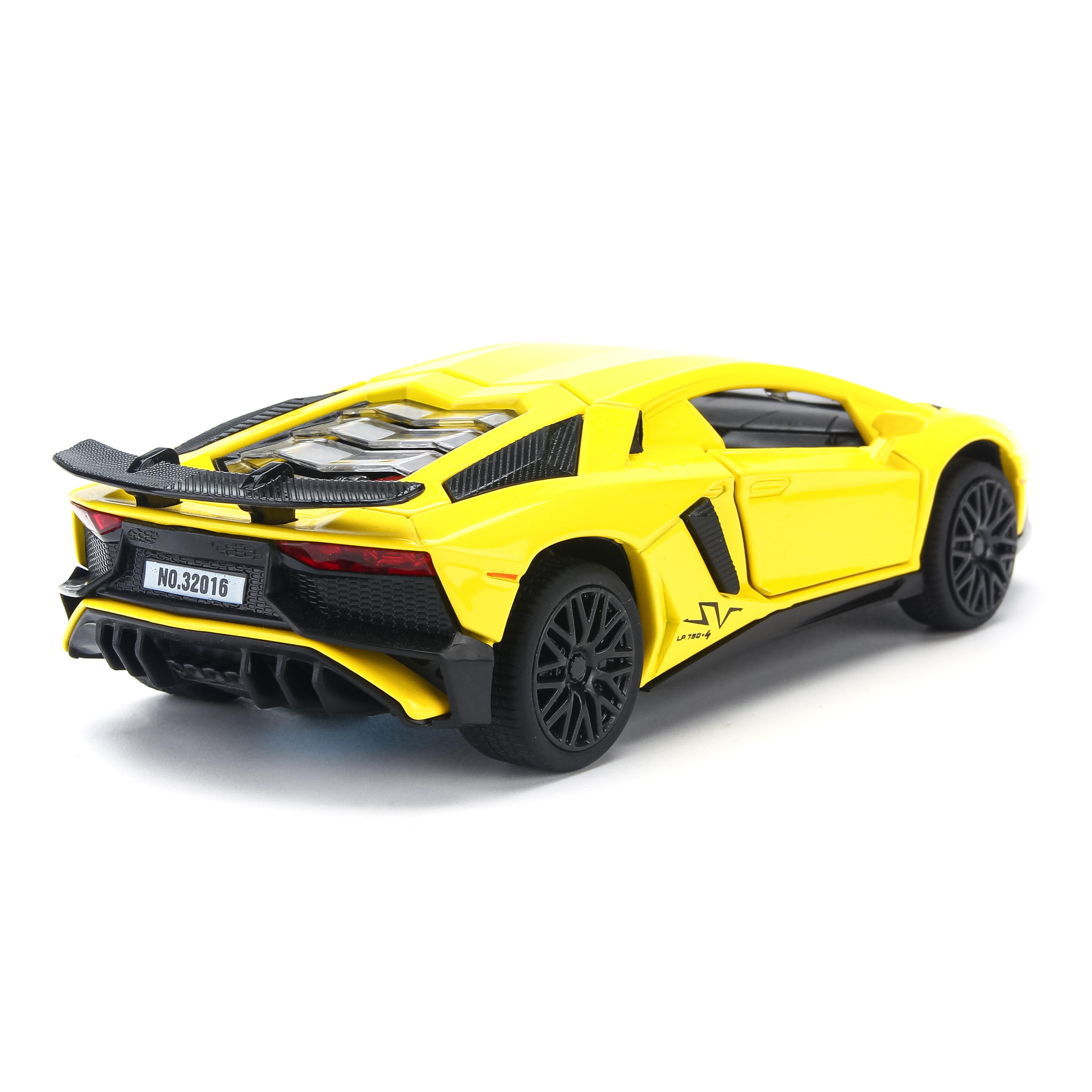 Mô hình xe Lamborghini Aventador LP750-4 SV 1:32 Miniauto - 32016
