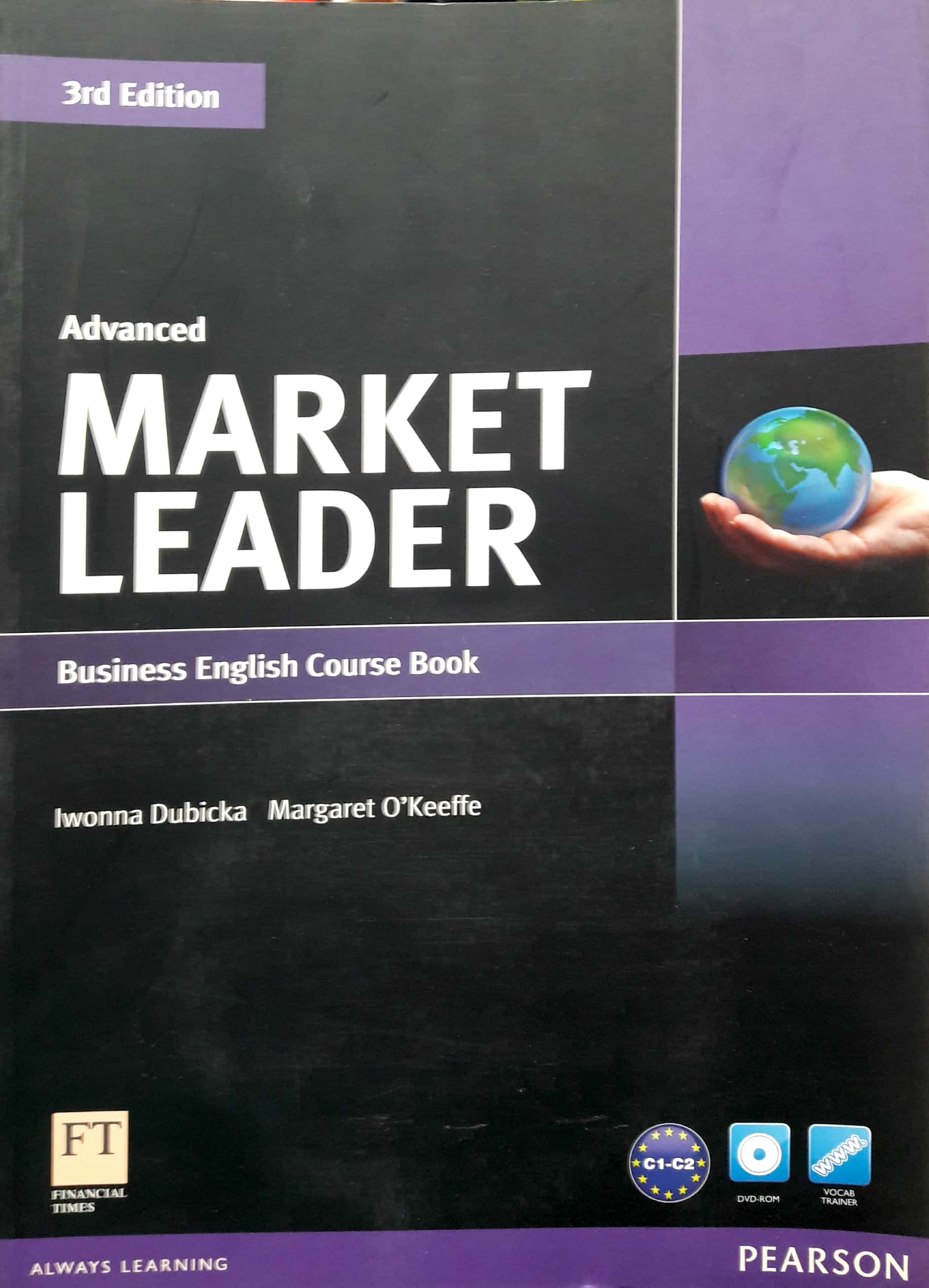 Market Leader 3Rd Edition Advanced Course Book & Dvd-Rom Pack